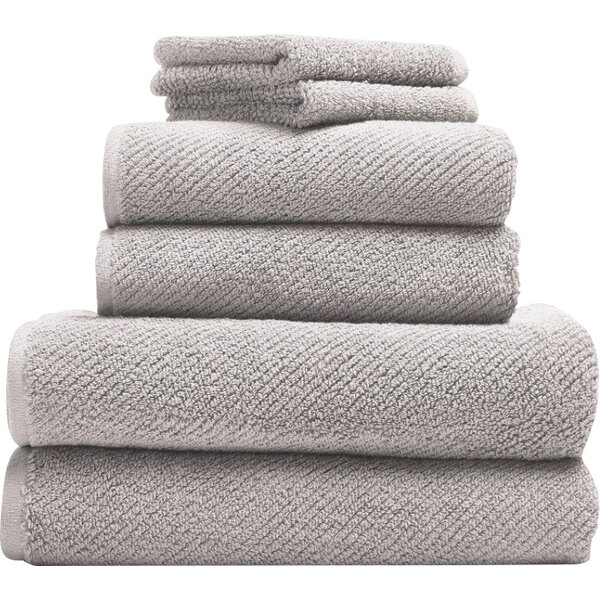 Air Weight 6 Piece 100% Cotton Towel Set by Coyuchi